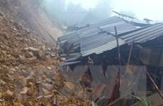 Yên Bái: Nhiều tuyến đường bị ngập do ảnh hưởng của mưa bão