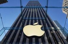 Apple trở thành tập đoàn Mỹ đầu tiên có giá trị vốn hóa 2.000 tỷ USD