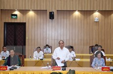 Bộ Chính trị làm việc về chuẩn bị đại hội tại 11 đảng bộ trực thuộc TW