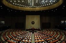 Quốc hội Hàn Quốc phải tạm đóng cửa do một phóng viên mắc COVID-19