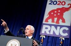 Phó Tổng thống Pence tiếp nhận đề cử liên danh của đảng Cộng hòa