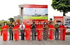 """Khai mạc triển lãm ảnh """"Lăng Chủ tịch Hồ Chí Minh-Đài hoa vĩnh cửu"""""""