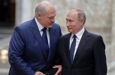 Tổng thống Nga và Belarus nhất trí gặp nhau tại Moskva