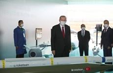 Thổ Nhĩ kỳ bắt đầu thử nghiệm các động cơ tên lửa sản xuất trong nước