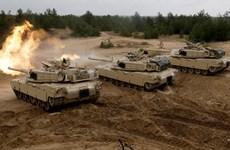 Mỹ triển khai hàng trăm binh sỹ tới tập trận quân sự tại Litva