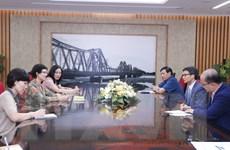 Phó Thủ tướng Vũ Đức Đam tiếp Giám đốc UNAIDS tại Việt Nam