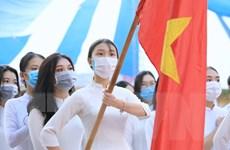 [Photo] Học sinh cả nước náo nức trong ngày hội khai trường
