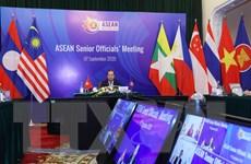 [Photo] ASEAN 2020: Hội nghị trực tuyến các quan chức cao cấp ASEAN