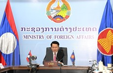 Bộ Ngoại giao Lào ra thông cáo báo chí về kết quả hội nghị AMM 53