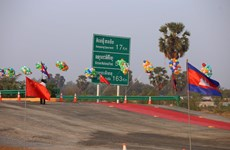 Campuchia cần các dự án hạ tầng và logistic mới để thúc đẩy xuất khẩu