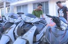 Triệt phá băng nhóm sử dụng máy phá sóng định vị để trộm xe môtô