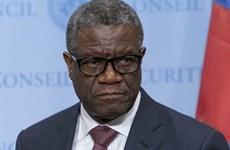 LHQ cử binh sỹ bảo vệ người đoạt giải Nobel hòa bình Denis Mukwege
