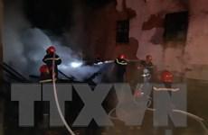 TP. HCM: Hỏa hoạn thiêu rụi chi nhánh ngân hàng và cửa hàng nệm