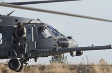 Máy bay trực thăng Mỹ rơi ở Syria, chưa rõ số phận viên phi công