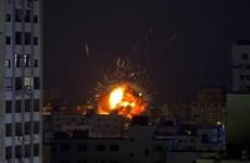 Hamas phóng tên lửa, Israel điều máy bay không kích Dải Gaza