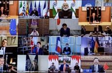 Nhóm G20 cam kết thúc đẩy phục hồi kinh tế hậu đại dịch COVID-19