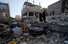 Động đất mạnh ở khu vực Đông Bắc Iran làm nhiều ngôi nhà bị hư hỏng
