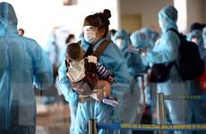 Dịch COVID-19: Đưa hơn 250 công dân Việt Nam từ Hàn Quốc về nước