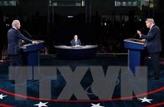"""Bầu cử Mỹ 2020: Màn """"so găng nảy lửa"""" giữa hai ứng cử viên tổng thống"""