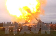 """Xung đột tại Nagorny-Karabakh: Nga, Pháp kêu gọi ngừng bắn """"hoàn toàn"""""""