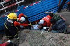 Trung Quốc: Xe tải hạng nặng lao vào hội chợ, 20 người thương vong