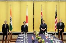 QUAD tăng cường thực hiện Ấn Độ Dương-Thái Bình Dương tự do, rộng mở