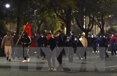 Đụng độ giữa hai nhóm chính trị đối lập tại thủ đô Kyrgyzstan