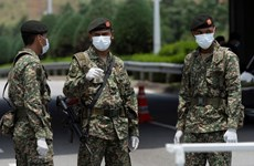 Malaysia điều động quân đội tham gia chống đại dịch COVID-19
