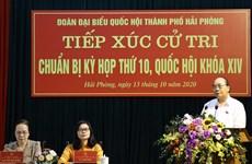 [Video] Thủ tướng Nguyễn Xuân Phúc tiếp xúc với cử tri tại Hải Phòng