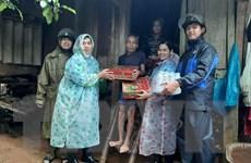 Quảng Trị: Lũ xuống chậm, tập trung cứu trợ người dân bị cô lập