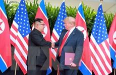 """Tổng thống Trump ca ngợi ông Kim Jong-un là nhà lãnh đạo """"minh mẫn"""""""