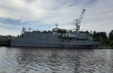 Nga sắp phiên chế tàu thu hồi ngư lôi mới nhất vào Hạm đội Biển Đen
