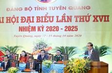 [Photo] Khai mạc Đại hội đại biểu Đảng bộ tỉnh Tuyên Quang lần thứ XVI