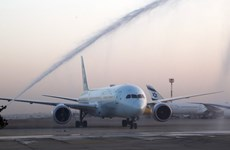 Chuyến bay thương mại đầu tiên được thực hiện từ UAE tới Israel