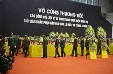 [Video] Lễ truy điệu 22 cán bộ, chiến sỹ Đoàn Kinh tế Quốc phòng 337