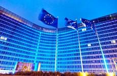 Sắc màu chào mừng kỷ niệm 75 năm thành lập Liên hợp quốc tại châu Âu