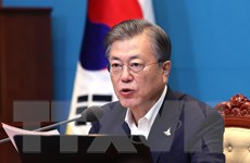 Tổng thống Hàn Quốc cam kết tiếp tục thúc đẩy đối thoại với Triều Tiên