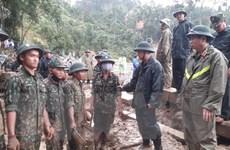 Sạt lở Trà Leng: Nỗ lực tìm kiếm nạn nhân trước khi bão số 10 tràn vào