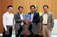 TTXVN chia sẻ khó khăn với đồng bào Quảng Nam bị ảnh hưởng do mưa, bão