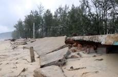 Thừa Thiên-Huế: Cảnh báo các vị trí có nguy cơ trượt lở đất đá, sạt lở