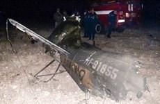 Trực thăng Mi-24 của Nga bị Azerbaijan bắn hạ trên bầu trời Armenia