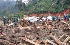 Quảng Nam: Lại xảy ra sạt lở núi vùi lấp 1 ngôi nhà, 1 người tử vong