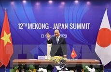 Thủ tướng đồng chủ trì Hội nghị cấp cao Mekong-Nhật Bản lần thứ 12