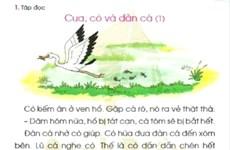 [Audio] Sách giáo khoa Tiếng Việt lớp 1: Cánh Diều rồi sẽ bay về đâu?