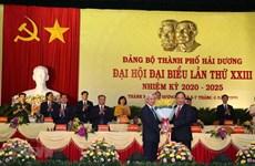 Đảng bộ Thành phố Hải Dương bầu trực tiếp Bí thư tại Đại hội điểm