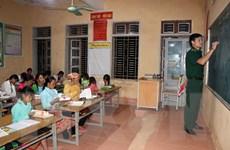 Những lớp học xóa mù chữ đặc biệt trên rẻo cao biên cương Mường Lạn