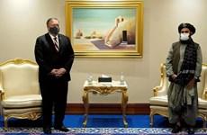Ngoại trưởng Mỹ gặp đại diện chính phủ Afghanistan và Taliban