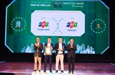 Truyền hình FPT nhận Giải thưởng Thành phố Thông minh 2020