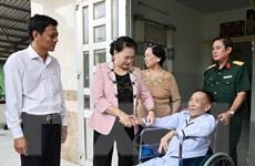 [Photo] Chủ tịch Quốc hội đi thăm và làm việc tại tỉnh Sóc Trăng