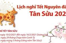 Chính thức: Lịch Nghỉ Tết Nguyên đán Tân Sửu và Quốc khánh 2021